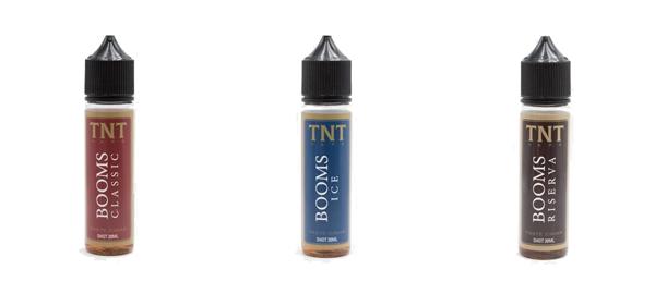Booms - TNT Vape Liquidi Scomposti