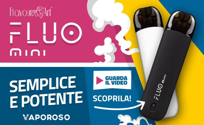 FlavourArt Fluo Mini Starter Pack - Disponibile su Vaporoso.it