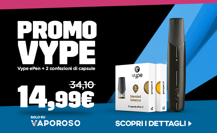 Vype ePen 3 Starter Pack, in promozione, su Vaporoso.it