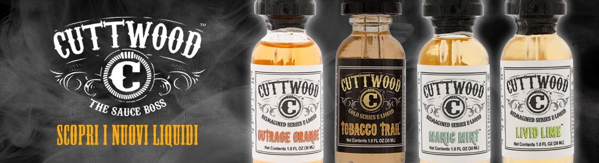 Cuttwood liquidi per sigaretta elettronica