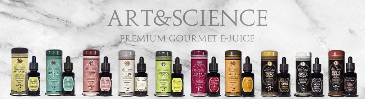 Art&Science Liquidi sigaretta elettronica