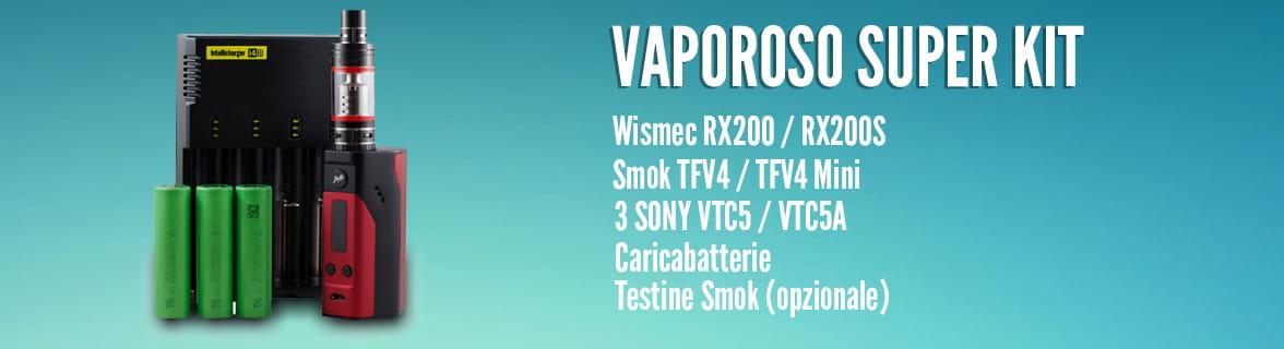 Kit Sigaretta elettronica Wismec + Smok