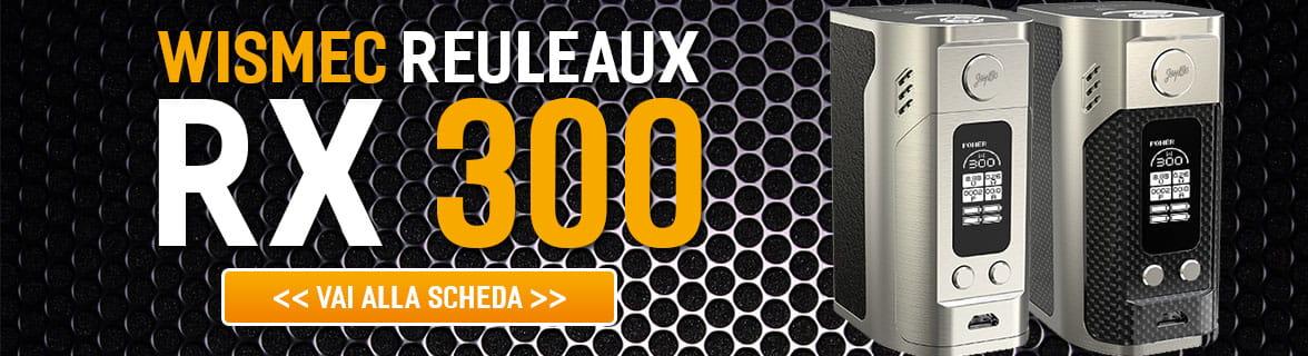 Wismec Reuleaux RX300 sigaretta elettronica