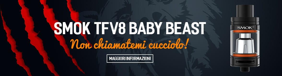 TFV8 Baby Beast atomizzatore per sigaretta elettronica