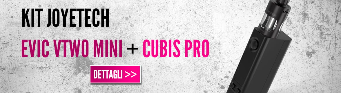 Kit joyetech eVic Vtwo + Cubis Pro