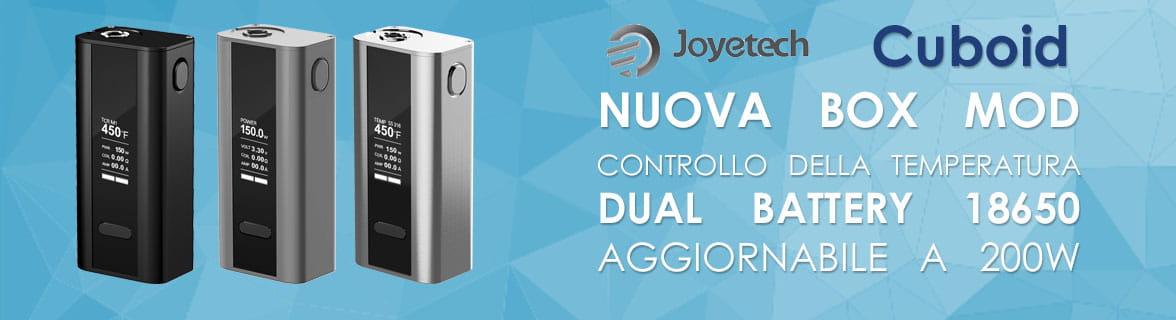 Joyetech Cuboid Sigaretta Elettronica box mod