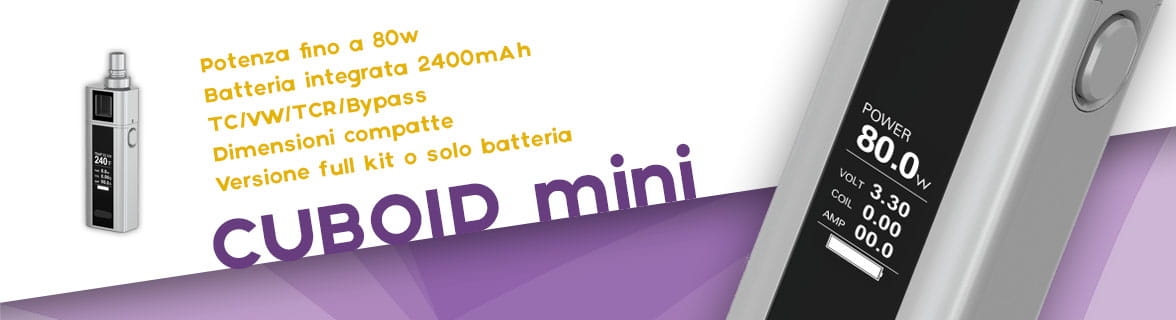 Cuboid Mini sigaretta elettronica