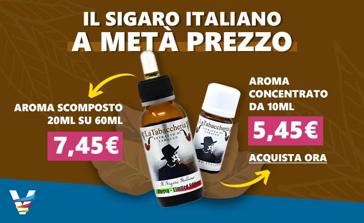 Aroma La Tabaccheria Sigaro Italiano in Sconto