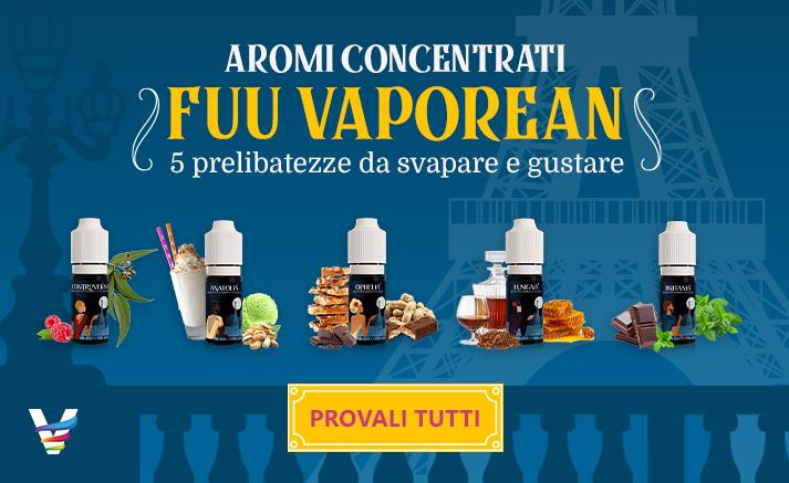 Nuovi Aromi Concentrati FUU Vaporean