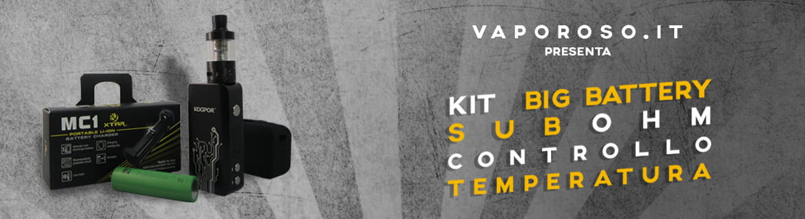 Kit Koopor Vaporoso.it Sigarette Elettroniche
