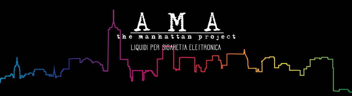 AMA Manhattan Project liquidi per sigaretta elettronica