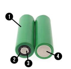 batterie litio parti